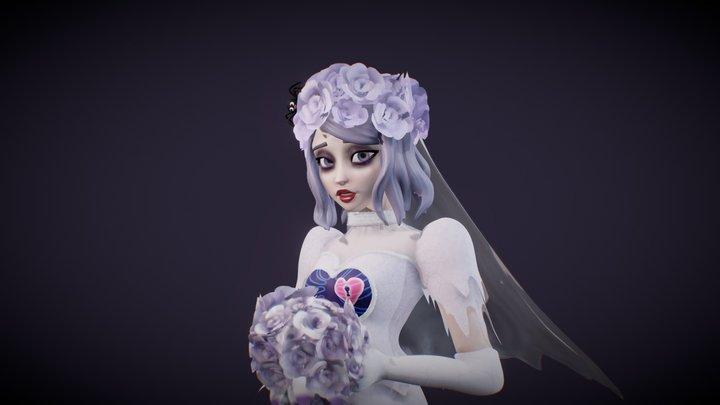 Ghost Bride Dancer 3D Model