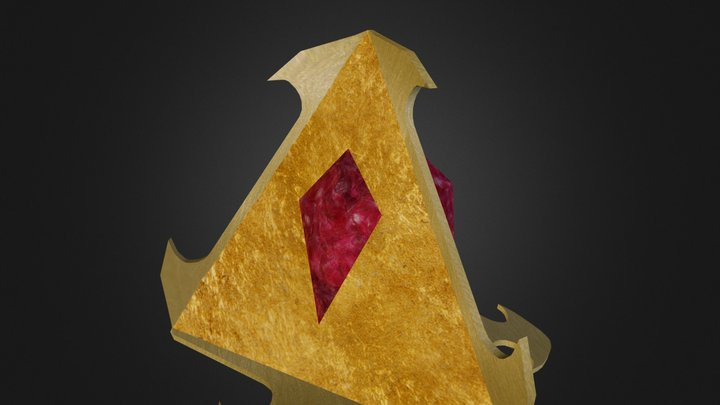 Triangle Fig Egypt 3D Model