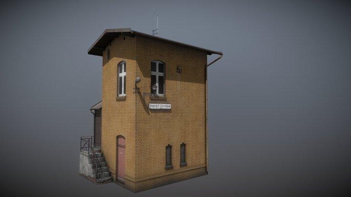 Railway Signal Box No. 57 (Free) 3D Model
