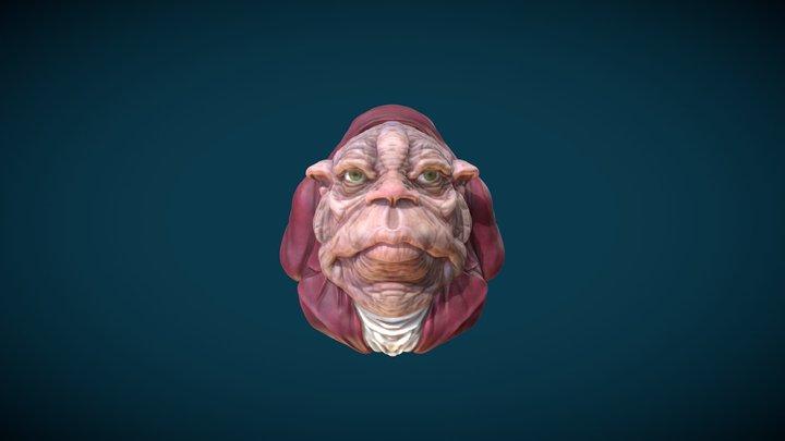 Mayordomo 3D Model