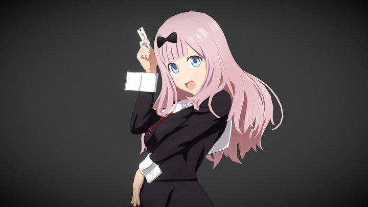 Kaguya-Sama: Love Is War Fujiwara Chika 3D Model