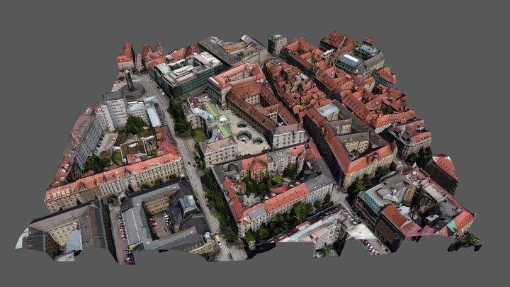 Graz 3D Model