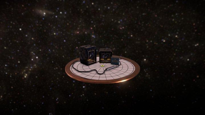 Guardian of Galaxy Vol.2 plataform 3D Model