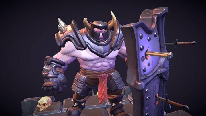 Bull Knight 3D Model