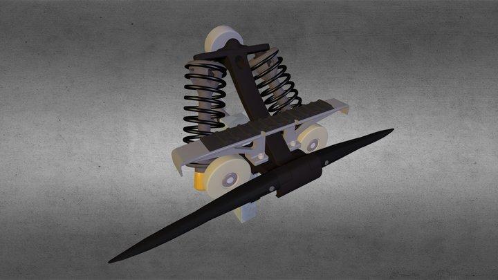 Pince Oméga T 3D Model
