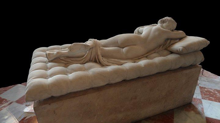 Sleeping Hermaphroditus, Musée du Louvre 3D Model