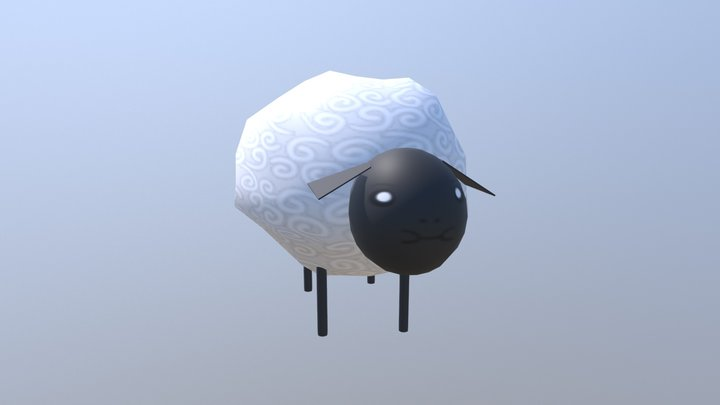 Sheep for Whimsical Wares 3D Model