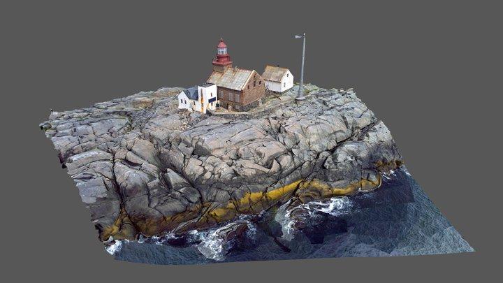 Norwegian Lighthouse 3D Model