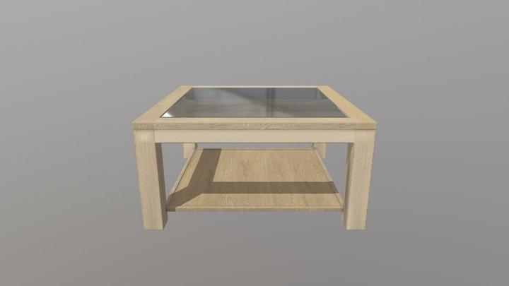 Table Basse Contemporaine 3D Model