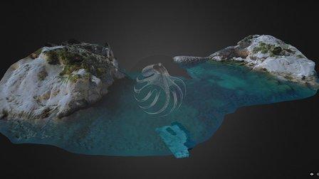 Marseille 2016 - Multilayer 3D Amphorae field 3D Model