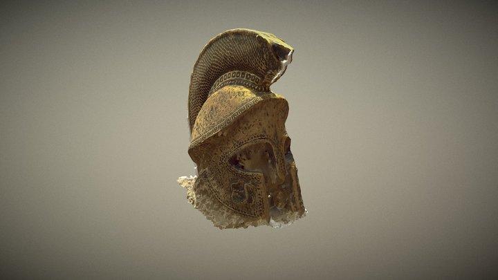 Spartan Bronze helmet 3D Model