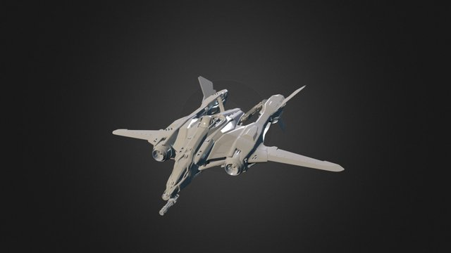Aegis Dynamics Vanguard Warden 3D Model
