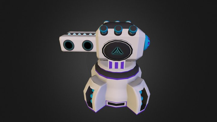 MagneticTurret 3D Model