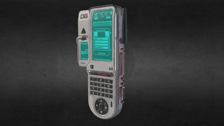 MGD-09 Programming Device 3D Model