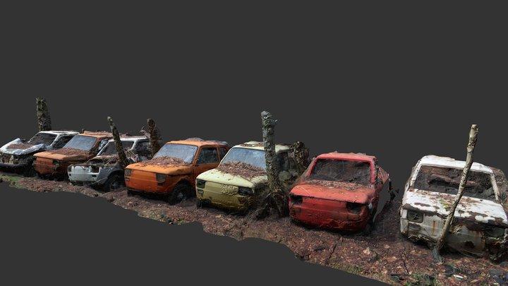 Fiat 126p 3D Model