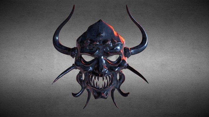 Asura Evil Spirit Mask 3D Model