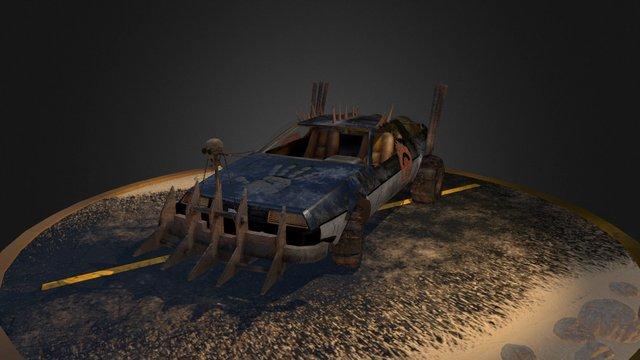 Mad Max DeLoren 3D Model