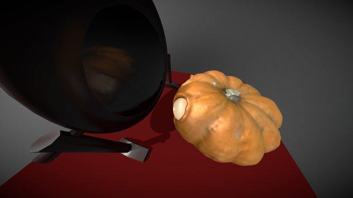WTF! Imma pumpkin! 3D Model