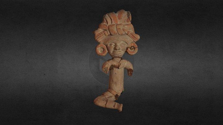 Statuette précolombienne 3D Model