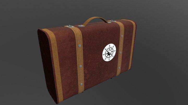 Briefcase 3D Model