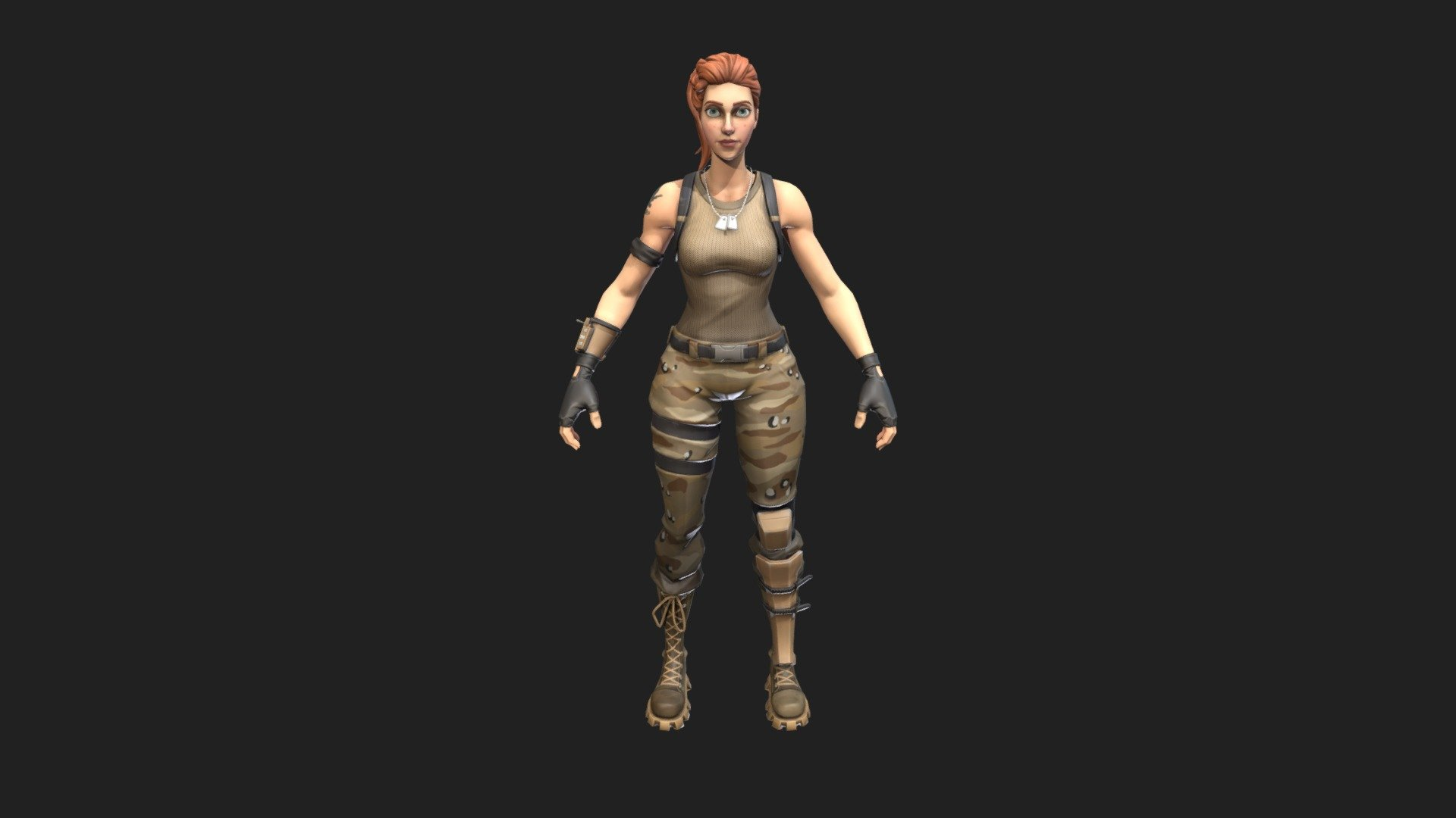 Fortnite Tower Recon Specialist 3d Model By Skin Tracker Stairwave A8d2b93 Sketchfab