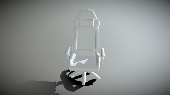 Chair No Color 3D Model