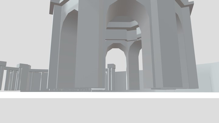 Palace 3D Model