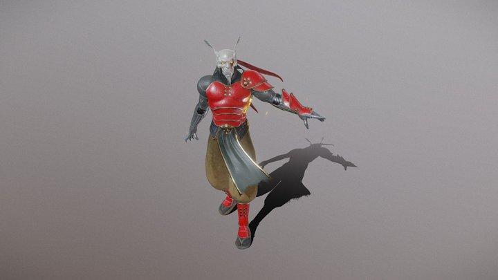 Kohryu The Iron Mole 3D Model