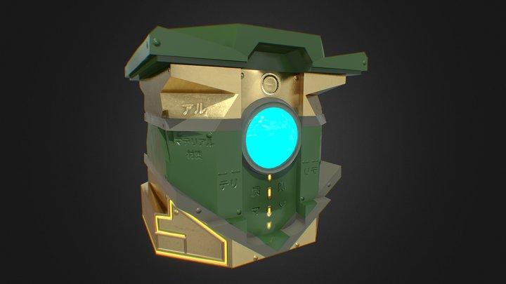 Loot Box 3D Model