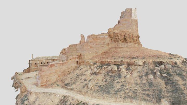 Castillo de Monreal de Ariza Estado Final 3D Model