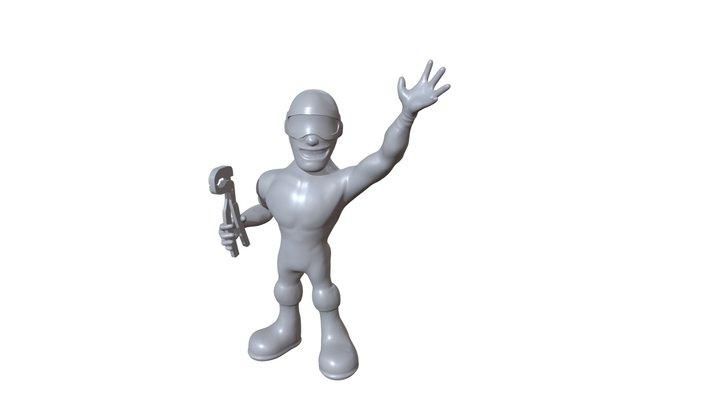 Mascotte 3D Model