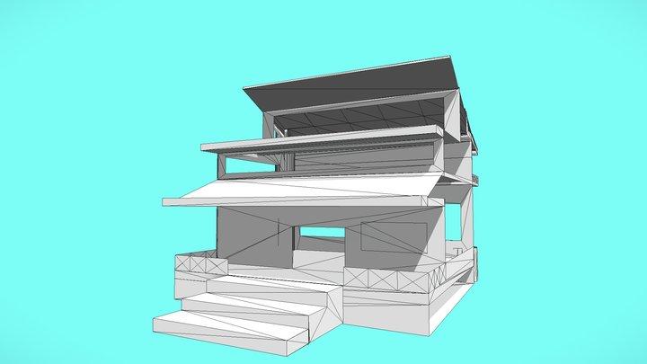 Future Sustainable House (2 Floors) 3D Model