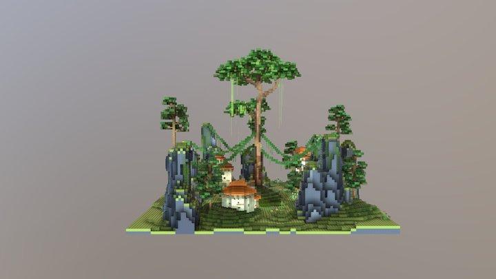 Survival Spawn 3D Model