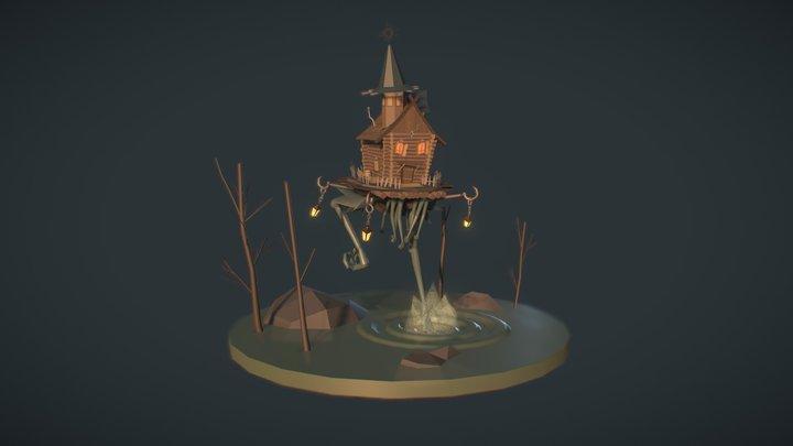 Izbushka / 3 states 3D Model