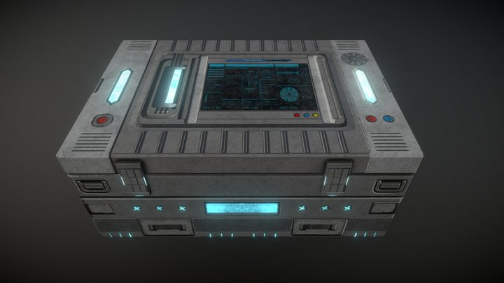 TP2_BOX_Sen_Lai 3D Model