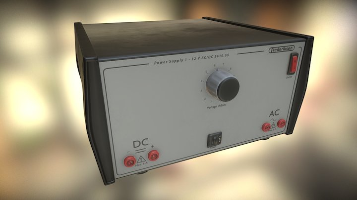 Electrical Power Supply 3D Model