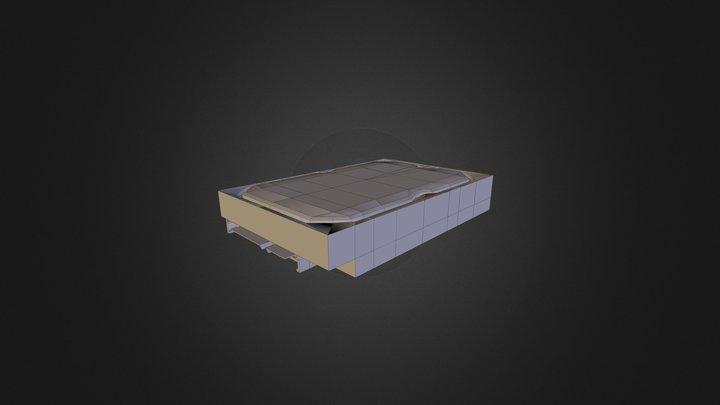 Desktop HDD 3D Model