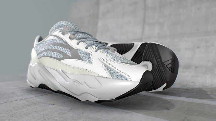 Adidas Yeezy Boost 700 V2 Static - CGI 3D Model