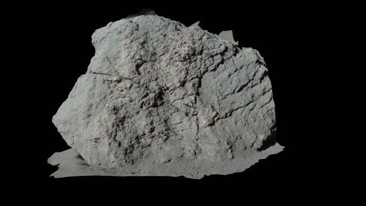 Apollo17 - lunar rock sampled on the Moon 3D Model