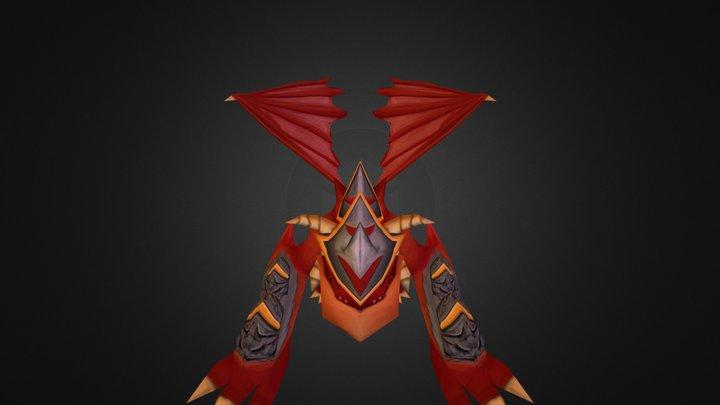 Ancient Dragon 3D Model