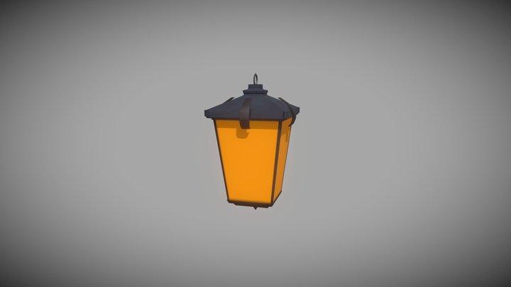 Simple Lamp 3D Model