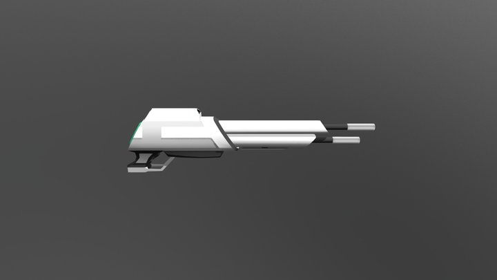 Rifle Gun : AlienWave 3D Model