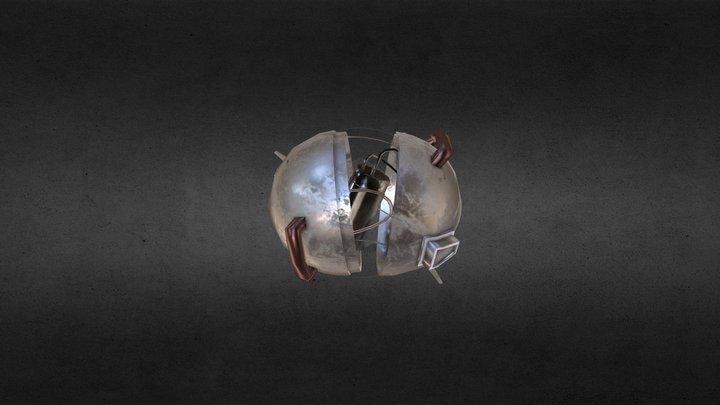 Space Junk Richard V2 3D Model