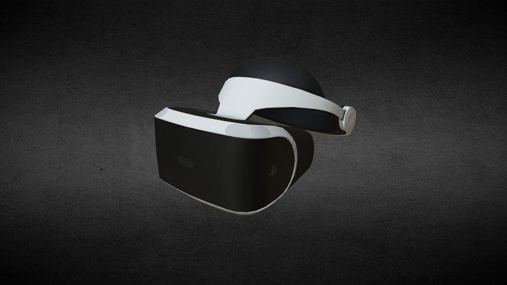 Sony PSVR Headset 3D Model