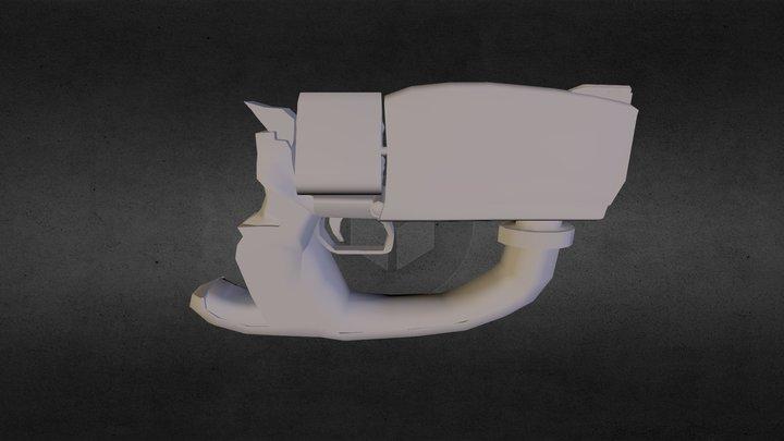 Maliwan Pistol (BorderLands) 3D Model
