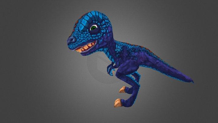 Raptor-Toon 3D Model