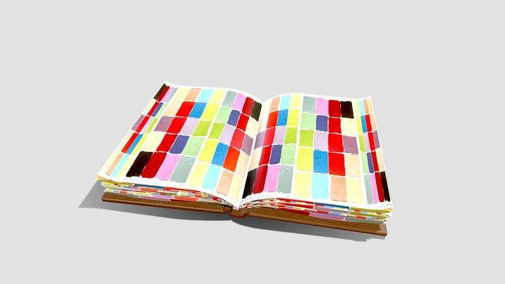 Open Colours Book 3D Model