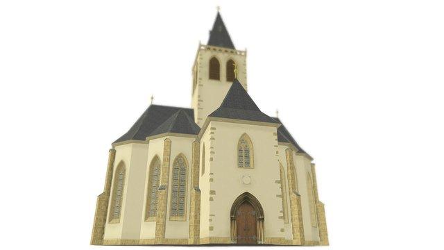 GOTICKÁ KAPLE BOŽÍHO TĚLA 3D Model