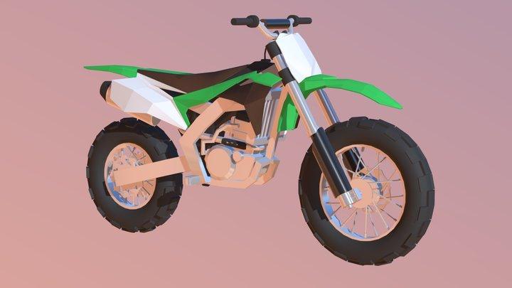 Kawasaki Low-poly * ish 3D Model