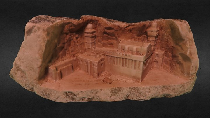 abraham mosque - Hebron - Palestine 3D Model